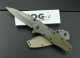 Wholesale Sog Knives Sale - Hot sale SOG FA02 Fast-open knife Outdoor survival Rescue Pocket Knife hunting knife tactical tools gift 611L