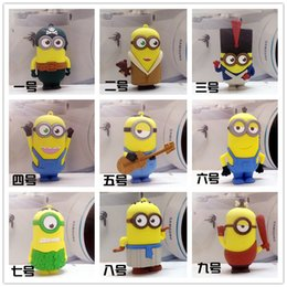 Wholesale Despicable Cell - Universal 8800mAh Mini Cell Phone Power Bank Cartoon Despicable Me Minions Charger Portable External Mobile Backup Battery Charger