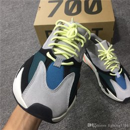 Wholesale Wholesale Rubber Flooring - 2017 Boost Wave Runner 700 B75571 Kanye West Boost Sply Handmade Shoes Best Quality with Original Box