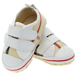 Wholesale Girls Buckle Shoes - Retail Spring Autumn Baby kids letter First Walkers Infants soft bottom Anti-skid Shoes Warm Toddler Casual shoes