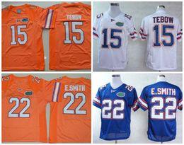 Wholesale Florida Gators Football - Mens Florida Gators Tim Tebow College Football Jerseys stitched #22 Emmitt Smith Florida Gators NCAA throwback Jersey S-3XL