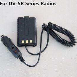 Wholesale Baofeng Plus - 12V DC Car Charger Battery Eliminator For BaoFeng UV-5R UV-5RA UV-5RA+Plus UV-5RB UV-5RC UV-5RE+Plus BF-F8+ Two Way Radio Free Shipping !!!