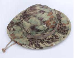 Tattico Mandragora Boonie Kryptek Pattern US Army Rip-stop Cappelli Cappelli da campeggio Escursionismo Caccia Serpente a sonagli Combattimento Pesca softair da