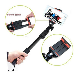 Wholesale Camera Telescopic Monopod - Wholesale-Yunteng 188 Portable Handheld Telescopic Monopod Tripod + Bluetooth remote shut release For Cameras Cell Phones With Holder