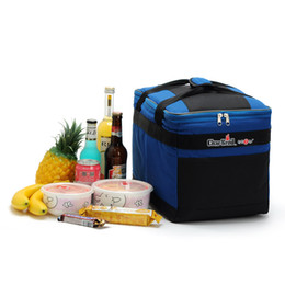 Wholesale Isothermic Bag - Hot Sales Professional Barbecue Outdoor Lunch Bag Box Cool Thermal Handbag Food Drinks Ice Packs Isothermic Bags Picnic bag On Sale
