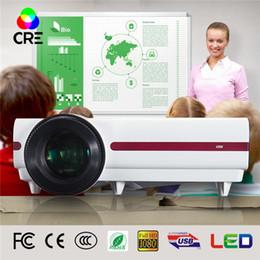 projecteurs pour pas cher Promotion Vente en gros- 3500 lumens 720p native hd 3d led lcd projecteur chine pas cher lcd projecteur prix soutien 3d projecteur