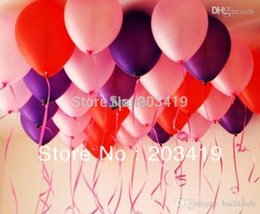 Wholesale Latex Post - pearl oval-shaped 12inch=30cm colorful Latex Balloons for Birthday Wedding Party Decor can pick 9 color CN post