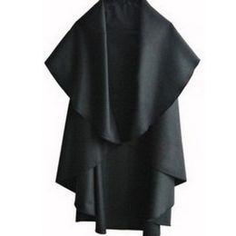 Ponchos de lã preta on-line-Atacado-2015 New Womens Capa Black Batwing Lã Poncho Jacket Lady Outono Inverno Casaco Manto Quente E3215E