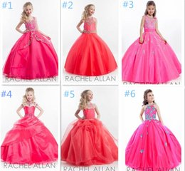 Wholesale Girl Formal Dance Party - 2015 New Ball Gowns Flower Girl Dresses with Appliques Sleeveless Beading Formal Party Dresses Girls Pageant Dresses Wedding Dance Dresses