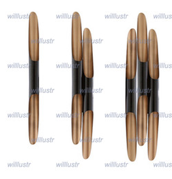 Wholesale Unique Wall Lamps - Nordic modern design Coltrane wall lamp simple fashion wall light delightfull unique wall sconce aluminum lamp sitting room bedroom lounge
