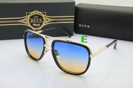 Wholesale Dita Glasses - Dita Mach One Gradient Lens Sunglasses Men Women Brand Design Sun Glasses Vintage Retro Classic Oculos De Sol Gafas 62133