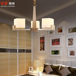 Canada Solid Wood Chinese Restaurant Lights Ceiling Pendant Lamp Minimalist Style Dining Room Light E27