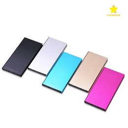 Wholesale Power Bank Portable External Battery - 20000Mah Ultra Thin Slim Power Bank Phone Charger Portable External Battery Polymer Book for iPhone 7 mobile phone Tablet PC with Package