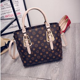Wholesale Medium Coin Purse Women - Fashion PU Leather Big Shoulder messenger Bags 2017 Brand Women Bag High Quality Ladies Handbags Tote Bag Women Coin Purses And Handbags