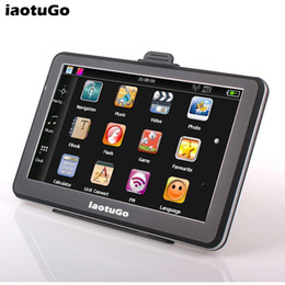 Wholesale Good Japanese - New arrival good quality 7 inch MTK GPS navigator 800MHz,256M,8G,FM,WINCE 6,offer newest maps navigation and free shipping