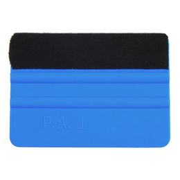 Wholesale Car Wrap Squeegee - 3M Squeegee Car Sticker Wrapping Scraper With Cloth Scraper Car wrap Tools Glass Clean felt