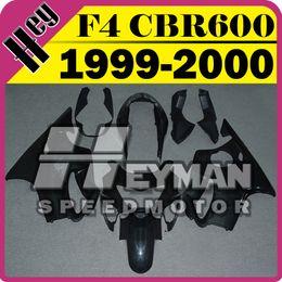 Wholesale Cbr F4 Fairings - In Stock Heymanspeedmotor Unpainted(Unpolished) Fairings Injection Mold For Honda CBR600F4 CBR 600 F4 1999 2000 99 00 H60H00