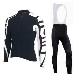 Wholesale Uv Clothing Women - 2017 men and women Triathlon outdoor sports bicycle riding clothing and team custom long sleeved trousers winter