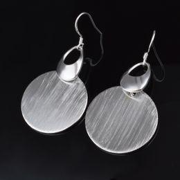 Wholesale Model Earrings - Fashion Pretty Explosion models in Europe and America Fashion Shine Noble Heart-shaped sand beads 925 Silver Earrings silver earrings 1150
