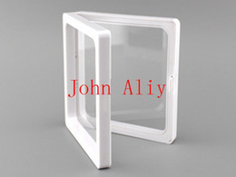 Wholesale Collections Photos - Hot selling clear plastic membranes photo frame display  collection box jewelry box 9x9x2cm