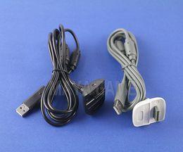 xbox führen Rabatt USB-Ladegerät Schnellladekabel Kabel Blei-Kit für Microsoft für Xbox 360 Wireless Controller Console Battery