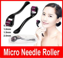 dermatologieausrüstung Rabatt Nadeln Derma MicroNeedle Haut-Gesichtsnarben Akne-Falten-Rolle schwarze Haut-Therapie-Narben 0.5mm 1.0mm 1.5mm 2.0mm