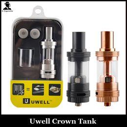 Wholesale Tfv4 Coils Clone - UWELL CROWN Tank Clone 4ml Duall Sub Ohm 0.15ohm 0.5ohm Coils Uwell Crown Atomizers VS Arctic Herakles Zephyrus TFV4 Trion Atomizer