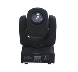 Wholesale Head Light Lens - Mini 10w super bright moving head stage spot light 7 colors fixed gobos Automatic run rotating lens
