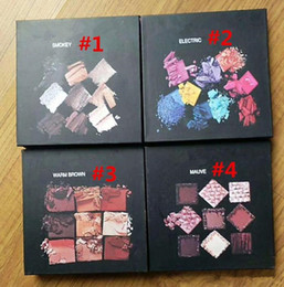 Wholesale Chrismas Set - HOT Beauty Cosmetics 9 color eyeshadow palette Mauve Warm Brown Smoky Electriac Obsessions Eyeshadow 4 Shades Chrismas eyeshadow FREE DHL