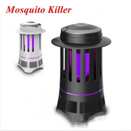 Wholesale Electrical Photocatalyst - 2015 Mosquito 220V 3W Photocatalyst Mosquitoes Killer Lamp LED Fly Killing Light Electrical Mosquitoes Lamp.Free Shipping