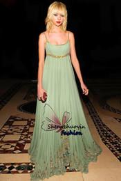 Wholesale Gossip Girl Dress Zuhair - Hot Gossip Girl Taylor Momsen Mint Tulle Long Celebrity Evening Dresses 2015 Zuhair Murad Evening Gown Formal Gowns Free Shipping
