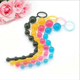 Wholesale Special Toy Sex - New Arrival Black Epic Sale Orgasm Vagina Plug Play Pull Ring Ball Sexy Sex Novelties Jelly Anal Special Toy Beads Chain