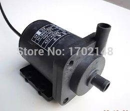 Wholesale Electric Centrifugal Water Pump - New DC 12V Electric Brushless Centrifugal Amphibious Water Pump 4.5m High 350 LPH Temp 100 ZC-B40