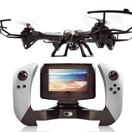 Wholesale Large Remote Control Helicopters - Free Shipping large FPV Camera Helicopter UDI U818S UDI U842 With Camera Video Remote Control Quadcopter Real Time FSWB