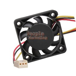 Wholesale Wholesale Cpu Processors - 3 Pin 40mm Computer CPU Cooler Cooling Fan PC 4cm 40x40x10mm DC 12V P4PM