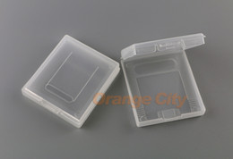 Wholesale Color Box Game - Plastic Game Cartridge Cases card cover box For Nintendo GameBoy Color Pocket GB GBC GBP