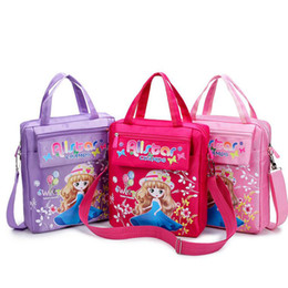 Wholesale Girls Lunch Totes - Girls School Bag Cute Bag For Kids Student Handbag Lunch Box Case Children School Crossbody Bookbag Remediation Tote Bag