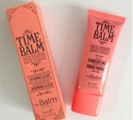 Wholesale Smooth Balm - Time Balm Face Primer Pore Makeup Concealer Foundation Primer Perfect Cover the Fine Lines Pore Smoothing 30ML