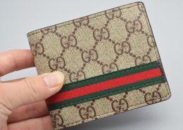 Wholesale Clip Wallets - Men Short Brand Wallet Billfold Male Designer Bifold Purse Boy Clutch Man Money Clips Porte Monnaie Portefeuille Homme GG0065