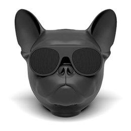 Wholesale Speakers Series - New Aerobull dog Bulldog Bluetooth wireless speaker TWS series subwoofer The Function Of Bluetooth radio 3.5 series audio connection 1+1