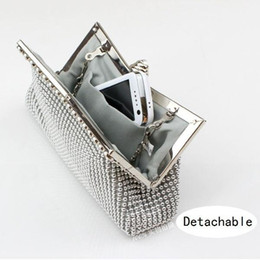 Wholesale Evening Beads Bags - Fashion Wedding Bag Imitation Beaded Clutch Evening Bags Woman's Party Handbags Day Clutches Purse Bridal Bag