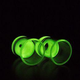 Wholesale Glow Dark Glasses Wholesale - 50pcs ATTY Luminous Glass Drip Tips Wide Bore Drip Tip Pyrex Atty 510 Glow in the Dark Mouthpiece Fit Atty RDA Atomizer Tobh Atty Big Top