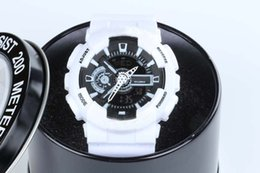 Wholesale Baby Dates - New GA100 ga400 LED army military shocking men women Lovers 1pcs in pack Casual Watches baby-g lady watch gift Original box