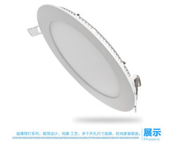 Wholesale 4w Spot - High popularity >90LM W 4W LED panel light slim wall recessed panle ceiling spot light covers
