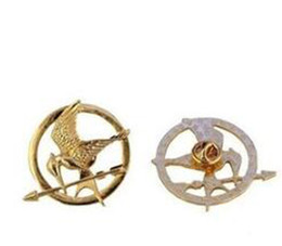 Wholesale Hunger Games Corsages - The Hunger Games Brooches Inspired Mockingjay And Arrow Brooches Pin Corsage Promotion!New Arrival European Hot Movie For Women And Men