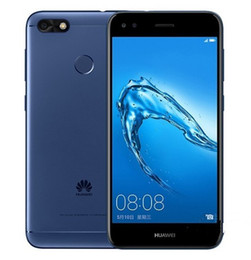 Wholesale Huawei Cdma Phones - Original Huawei Enjoy 7 4G Android 7.0 5.0inch MSM425 Quad core 2G RAM 16GB ROM 12.0MP Fingerprint Mobile Phone