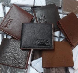 Wholesale Wholesale Leather Business Gifts - Free Shipping By DHL High Quality New Designer Wallets Purse For Men Faux Leather Many Patterns Best Gift