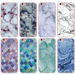 Alta qualidade tpu mármore pele tampa traseira caso do telefone móvel para iphone x 5 6 6 s 7 8 plus samsung de