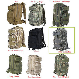 Wholesale Camp Military Backpack - 30L 3P Backpack Waterproof Outdoor Trekking Tactical Camping Military Sports Rucksacks Backpacks Classic Bag Multi Color