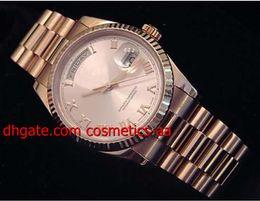 Wholesale W Watches - Luxury Wristwatches Mens Watch 40mm 18k Rose Gold w Rose Roman Dial 118235 Automatic Movemen Mechanical Men's Watches Wristwatch